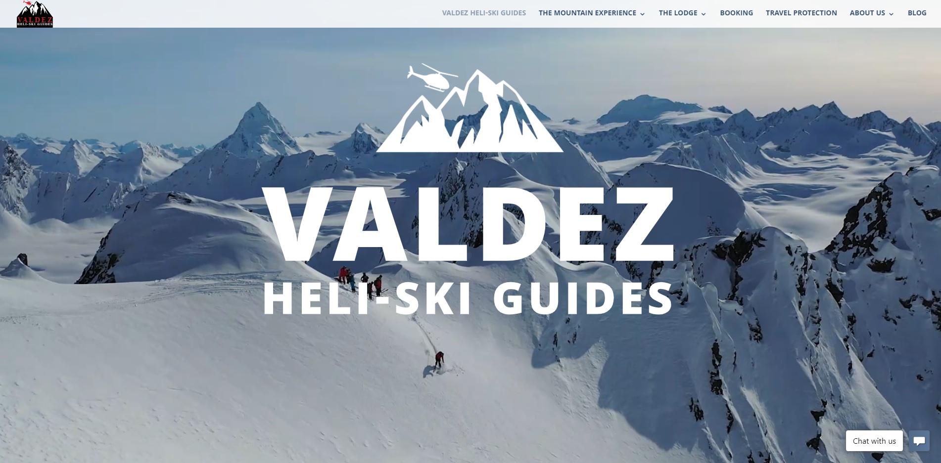 exemple site internet www.valdezheliskiguides.com best alaska heliskiing